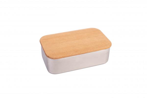 """Lunchbox mit Buchendeckel """"Waldpicknick"""""""